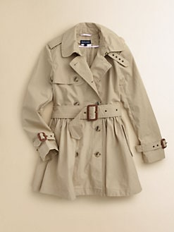 Ralph Lauren - Girl's Skirted Trenchcoat