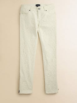Ralph Lauren - Girl's Lace Skinny Pants