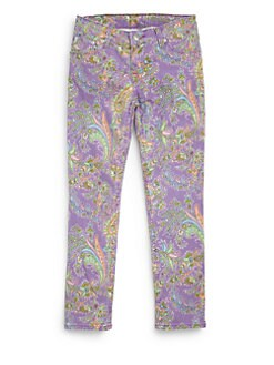Ralph Lauren - Girl's Paisley Skinny Jeans