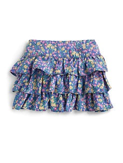 Ralph Lauren - Toddler's & Little Girl's Floral Ruffle Skirt