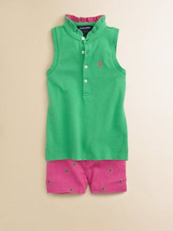 Ralph Lauren - Toddler's & Little Girl's Ruffle Polo Shirt
