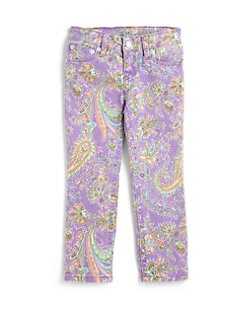 Ralph Lauren - Toddler's & Little Girl's Paisley Jeans