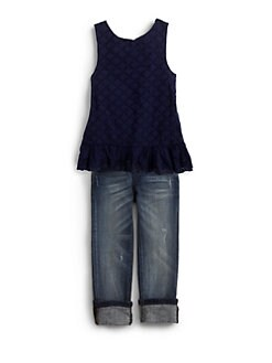 Ralph Lauren - Toddler's & Little Girl's Eyelet Tunic