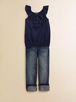 Ralph Lauren - Toddler's & Little Girl's Ruffle Top