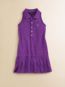 Ralph Lauren - Toddler's & Little Girl's Pleated Polo Dress