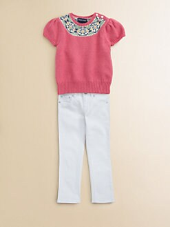 Ralph Lauren - Toddler's & Little Girl's Fair Isle Sweater