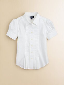 Ralph Lauren - Girl's Pintuck Blouse