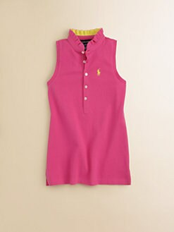 Ralph Lauren - Girl's Ruffle Polo Shirt