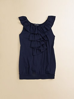 Ralph Lauren - Girl's Ruffle Top