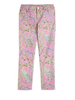 Ralph Lauren - Girl's Paisley Jeans