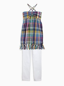 Ralph Lauren - Girl's Smocked Top