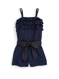 Ralph Lauren - Toddler's & Little Girl's Ruffled Romper