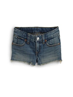 Ralph Lauren - Toddler's & Little Girl's Cutoff Denim Shorts