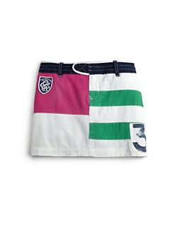 Ralph Lauren - Girl's Rugby Miniskirt