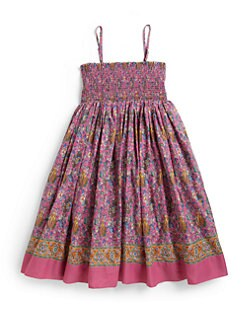 Ralph Lauren - Girl's Paisley Dress