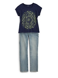 Ralph Lauren - Girl's Boho Graphic Tee