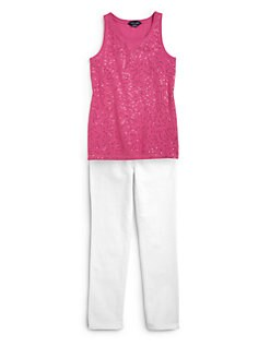 Ralph Lauren - Girl's Sequin Tank Top