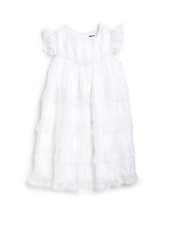 Ralph Lauren - Toddler's & Little Girl's Lace Ruffled Dress