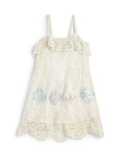 Ralph Lauren - Toddler's & Little Girl's Crochet Patchwork Sundress
