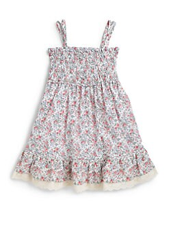 Ralph Lauren - Toddler's & Little Girl's Smocked Babydoll Dress