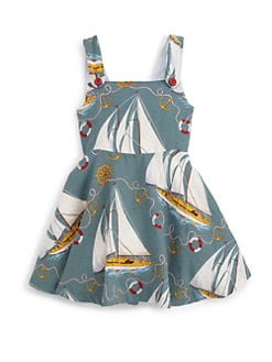 Ralph Lauren - Little Girl's Sailboat Dress