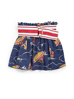 Ralph Lauren - Toddler's & Little Girl's Seaside Print Skirt