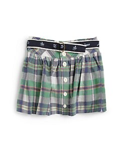 Ralph Lauren - Toddler's & Little Girl's Plaid Skirt