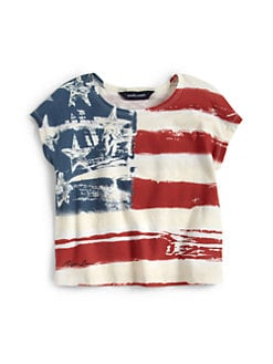 Ralph Lauren - Toddler's & Little Girl's Flag Tee