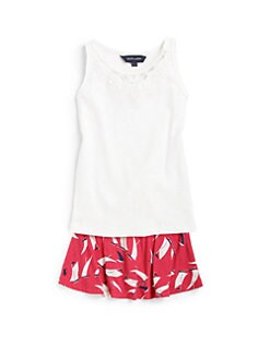 Ralph Lauren - Toddler's & Little Girl's Rib-Knit Tank Top