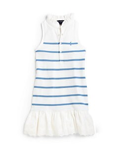 Ralph Lauren - Toddler's & Little Girl's Striped Polo Dress