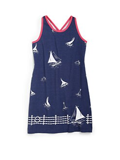 Ralph Lauren - Toddler's & Little Girl's Sailboat Tank Dress