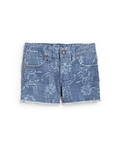 Ralph Lauren - Toddler's & Little Girl's Floral Denim Shorts