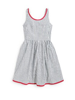 Ralph Lauren - Girl's Indigo Striped Dress
