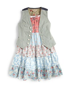 Ralph Lauren - Girl's Striped Vest