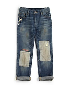 Ralph Lauren - Girl's Distressed Jeans