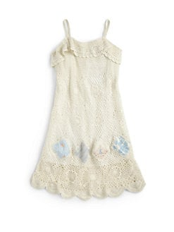 Ralph Lauren - Girl's Crochet Dress