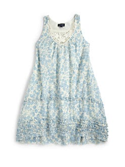 Ralph Lauren - Girl's Floral Tank Dress