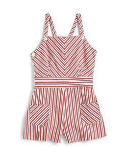 Ralph Lauren - Girl's Striped Romper