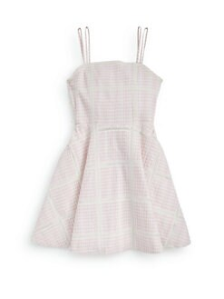 Ralph Lauren - Girl's Gingham Lace Sundress
