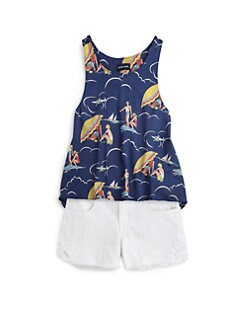 Ralph Lauren - Girl's Umbrella Tank Top