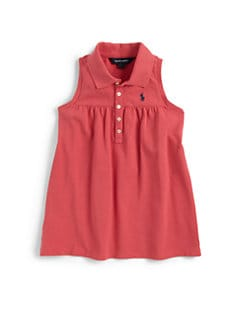 Ralph Lauren - Girl's Sleeveless Polo Shirt