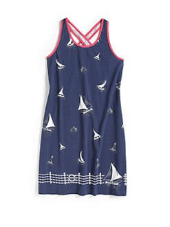 Ralph Lauren - Girl's Sailboat Tank Dress