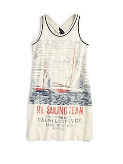 Ralph Lauren - Girl's Nautical Tank Dress