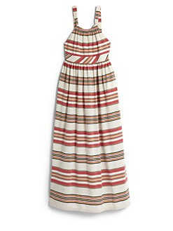 Ralph Lauren - Girl's Striped Maxi Dress