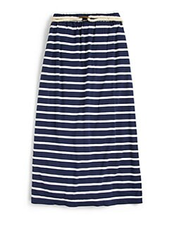 Ralph Lauren - Girl's Striped Maxi Skirt