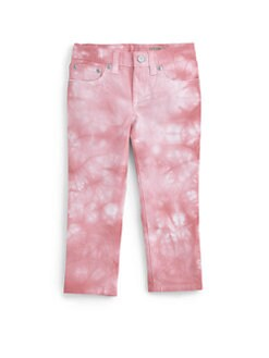 Ralph Lauren - Toddler's & Little Girl's Cropped Watercolor Skinny Jeans