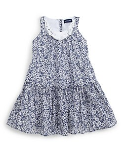 Ralph Lauren - Toddler's & Little Girl's Floral Crochet Dress