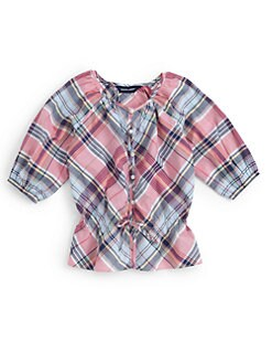Ralph Lauren - Toddler's & Little Girl's Madras Top