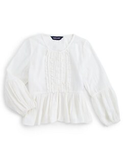 Ralph Lauren - Toddler's & Little Girl's Mini Ruffle Top