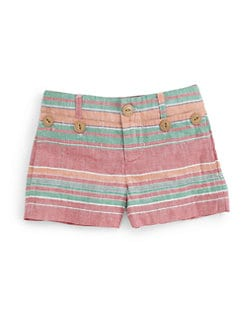Ralph Lauren - Toddler's & Little Girl's Striped Shorts